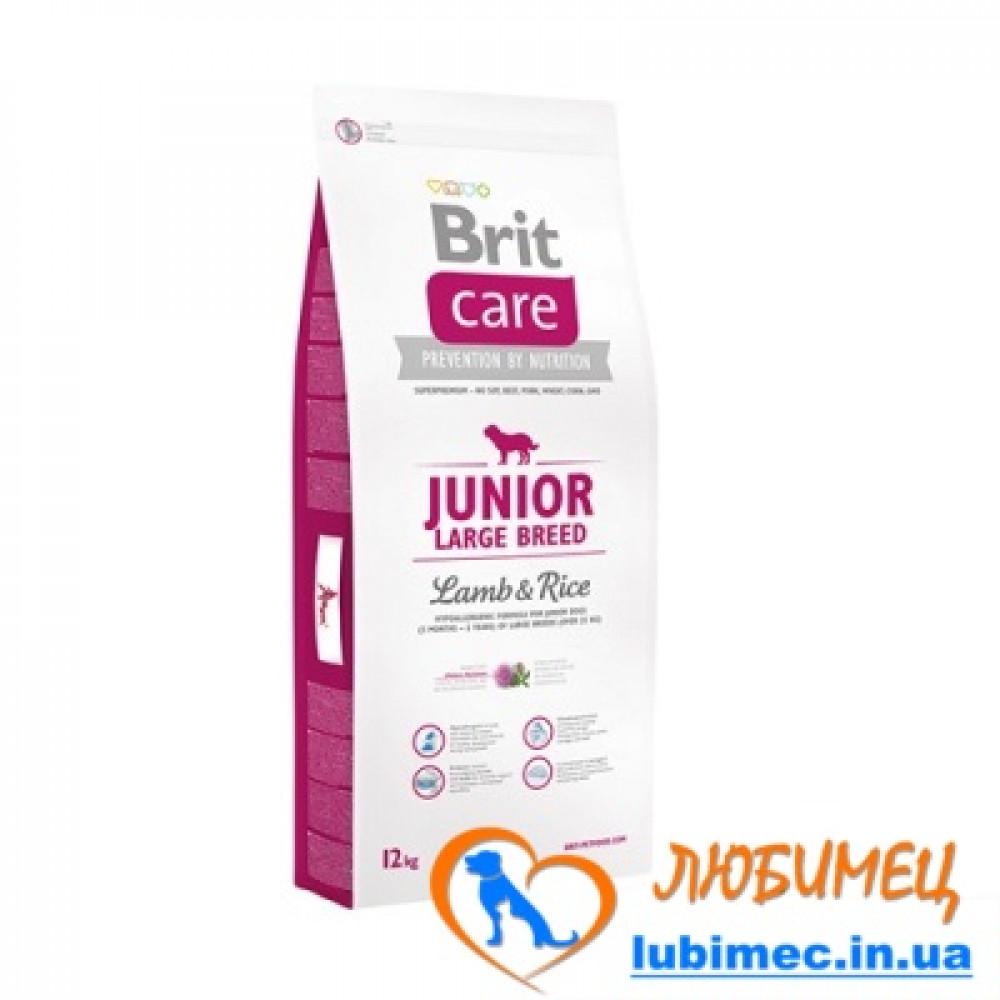Brit Care Junior Large Breed Lamb & Rice 3 kg (д/щенков гигантских пород)