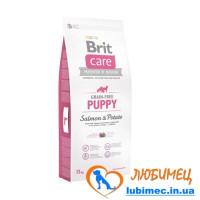 Brit Care GF Puppy Salmon & Potato 1 kg (д/щенков)