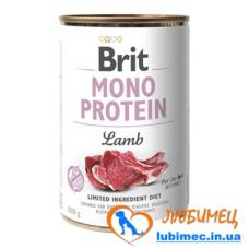 Brit Mono Protein Dog k 400 g с ягненком