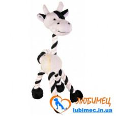 Игрушка из каната зебра, жираф 28см, 1шт