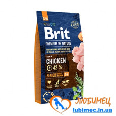 Brit Premium Dog Senior S+M 3 kg