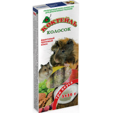 Колосок Коктейль для  грызунов (фрукт,орех,кокос) 90г