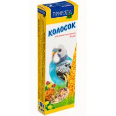 Корм и лакомство для волнистых попугаев Колосок Бисквит 140г