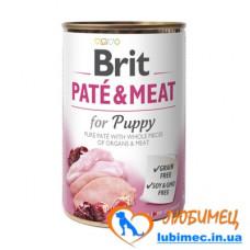Brit Paté & Meat Puppy 400 g chicken & turkey