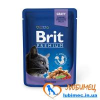 Brit Premium Cat pouch 100 g треска