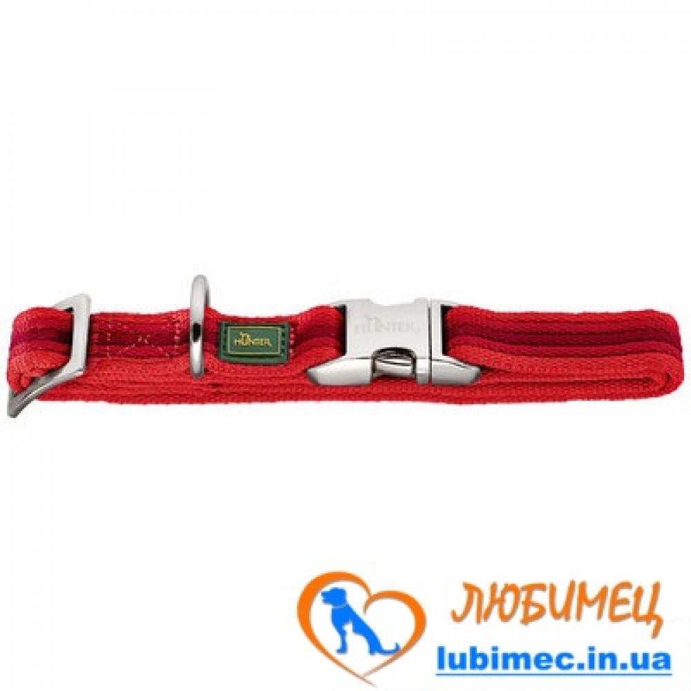Ошейник нейлон Davao Alu-Strong красный L/25мм 45-65см