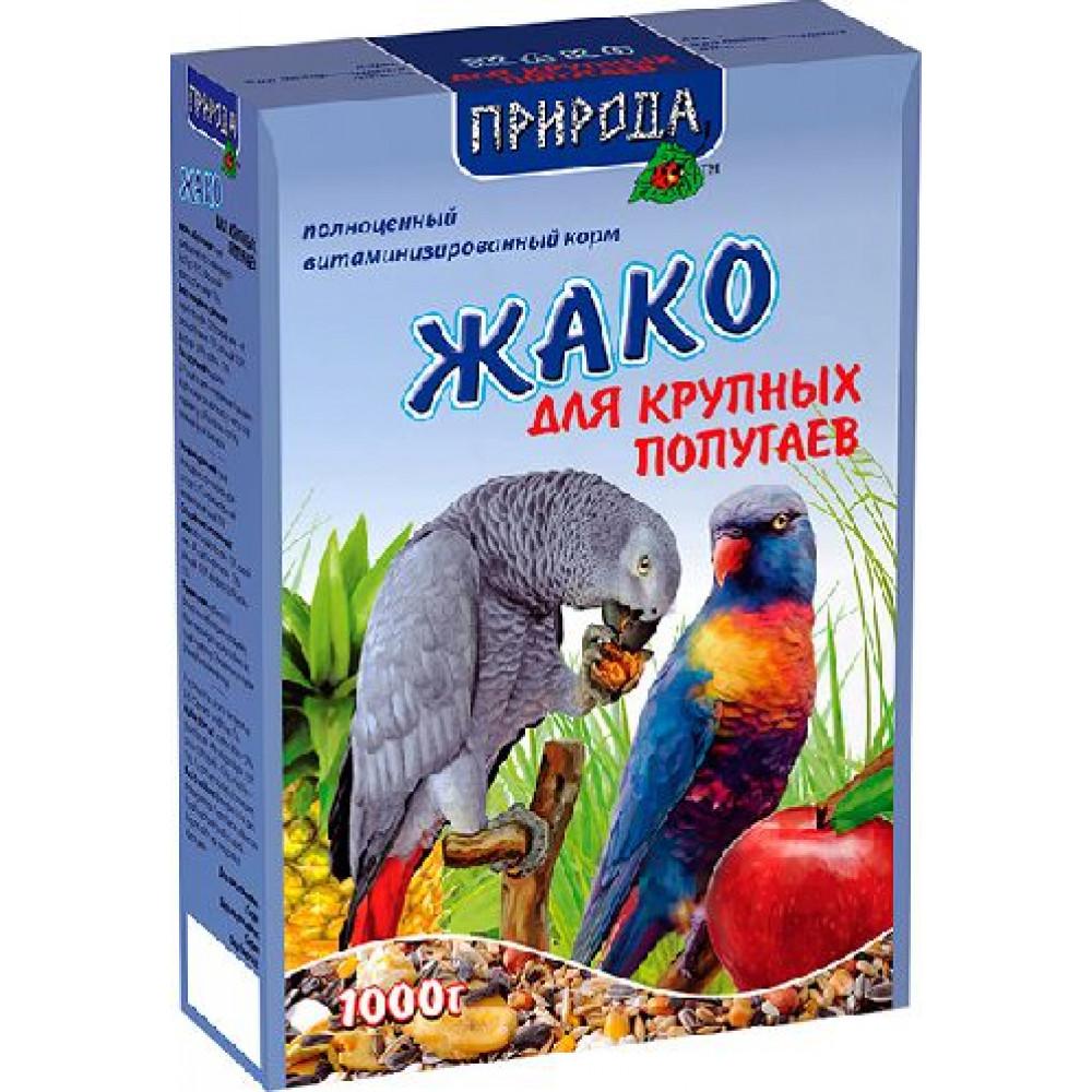 Корм ЖАКО 1 кг (для крупных попугаев)