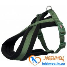 Шлея Premium туристическая, L–XL: 70–100 см/ 25 мм, оливковая
