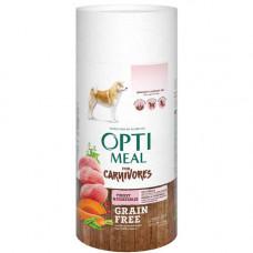 Беззерновой сухой корм Optimeal для взрослых собак всех пород, с индейкой и овощами, 650 г