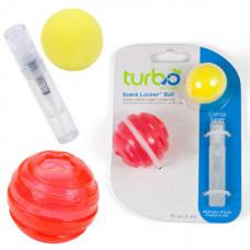 Игрушка Coastal Turbo Scent Locker Ball из прессованной кошачьей мяты, для кошек