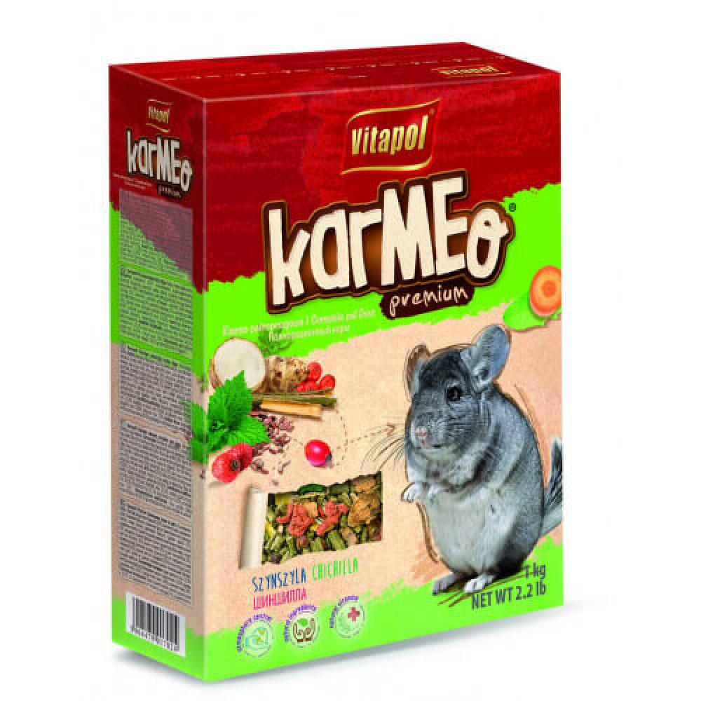 Премиум корм Vitapol Karmeo для шиншилл, 1кг