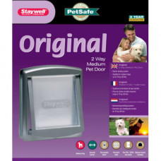 Дверцы PetSafe Staywell Original для кошек и собак средних пород до 18 кг, серые, 352х294 см