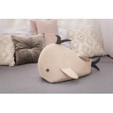Домик для животных с подушкой Digitalwool Рыбка 35 x 54 x 30 см Бежевый