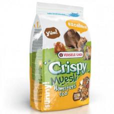 Корм Versele-Laga Crispy Muesli Hamster зерновая смесь для хомяков, крыс, мышей, песчанок, 1кг