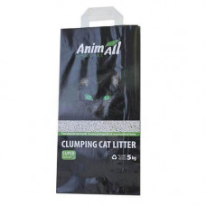 Бентонитовый наполнитель туалетов для кошек AnimAll без запаха 5 кг