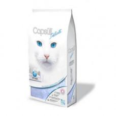 Наполнитель Capsull Delicate baby powder кварцевый, для кошачьего туалета, капсулы 3мм, 6кг