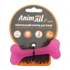 Игрушка AnimAll Fun кость 8 см Фиолетовая