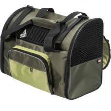 Рюкзак-переноска Trixie Shiva, для собак, 41×30×21 см, зеленый