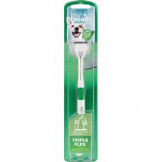 Зубная щетка TropiClean Triple Flex Dog Toothbrush TropiClean для собак