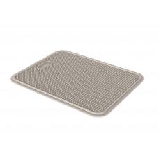 Пластиковый коврик Iago GeorPlast под туалет размер 45х35 см Коричневый