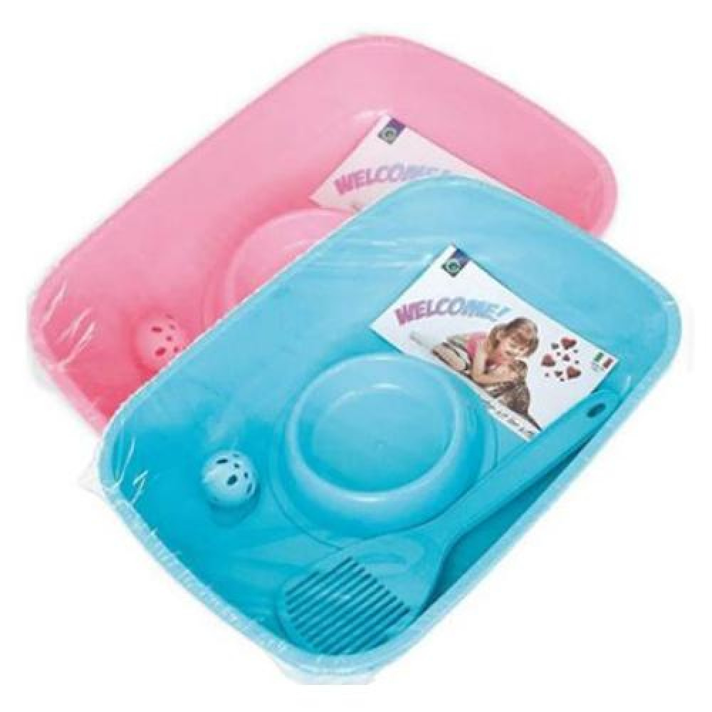 Комплект Georplast Welcome Starter Kit For Kitten для котят 37х27х8.5см
