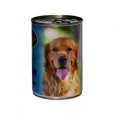 Влажный корм Baskerville для собак, ягненок и петух 400 г