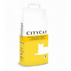 Впитывающийся наполнитель Sanicat CityCat Clumping для кошачьего туалета, без ароматизатора, 10 кг