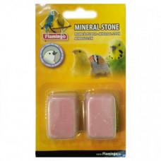 Минеральный камень Flamingo Pickstone для птиц, розовый, 4х3х2см, 2шт