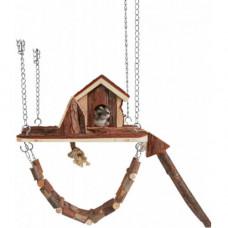Домик для грызунов Trixie - Janne, дерево, 26х22,5 см