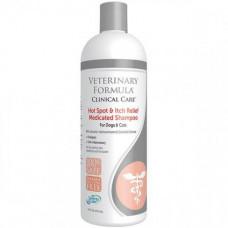 Шампунь Veterinary Formula Hot Spot&Itch Relief Medicated Shampoo для собак и котов, 45мл