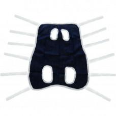 Послеоперационная попона №4 для собак и кошек 65-95cм / 71см, синяя