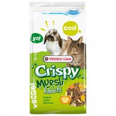 Полноценный корм Versele-Laga Crispy Muesli Rabbits Cuni для карликовых кроликов, 1кг