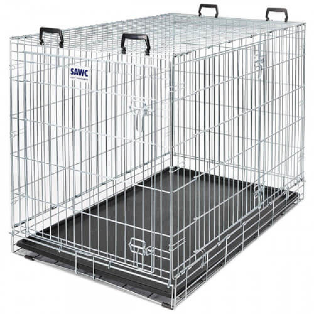Клетка Savic Dog Residence для собак, хамершлак, 107 х 71 х 81 см