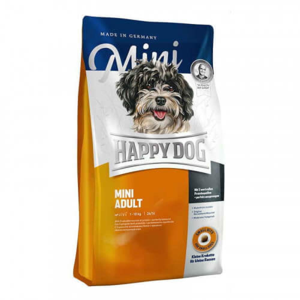 Сухой корм Happy Dog Mini Adult для взрослых собак мелких пород весом до 10 кг, 4 кг