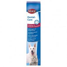 Гигиенический гель Trixie для плости рта для котов и собак, говядина, 100 г