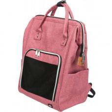 Рюкзак-переноска Trixie Ava, для кошек, 32×42×22 см, красный