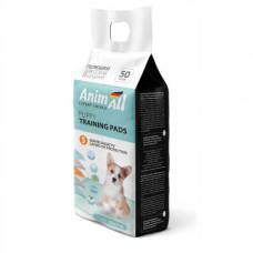 Пеленки AnimAll Puppy Training Pads для собак и щенков, 60 х 60 см, 50 штук