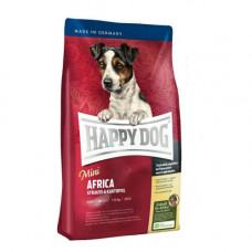 Сухой корм Happy Dog Mini Africa для собак мелких пород от 1 до 10 кг с чувствительным пищеварением, 1кг