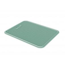 Пластиковый коврик Iago GeorPlast под туалет размер 45х35 см Зеленый