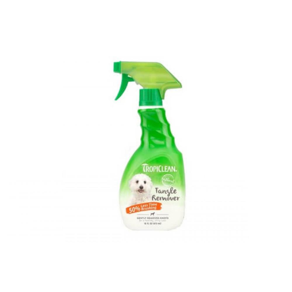Средство спрей для распутывания колтунов кошек Тропиклин Tropiclean Tangle Remover Spray