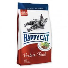 Сухой корм Happy Cat Supreme Adult Voralpen-Rind для взрослых кошек от 7 лет и старше, с говядиной, 300гр