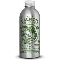 Лососевое масло + оливковое масло №1 Necon Salmoil для кожи и шерсти для собак и кошек, 500мл