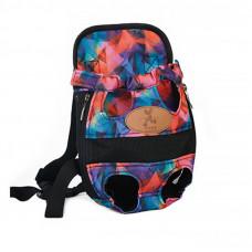 Рюкзак-переноска кенгуру для животных Hoopet HY-1203 Разноцветный M