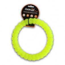 Игрушка AnimAll Fun кольцо с шипами 20 см Желтый