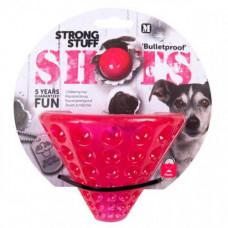 Игрушка Flamingo Shots Cone суперпрочная для собак 14х11 см