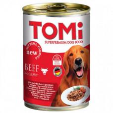 Консервы Tomi Beef с говядиной, супер премиум, для собак, 400гр