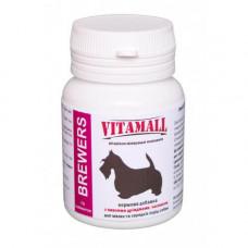 Кормовая добавка для малых и средних пород собак VitamAll с пивными дрожжами и чесноком 70 таблеток