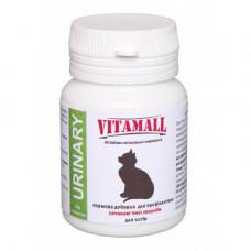 Кормовая добавка для котов VitamAll профилактика мочекаменной болезни 100 таблеток по 50гр