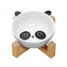 Миска для котов и собак керамическая Taotaopets 115505 Панда