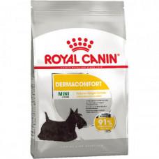 Сухой корм Royal Canin Mini Dermacomfort для собак мелких пород с чувствительной кожей 1кг